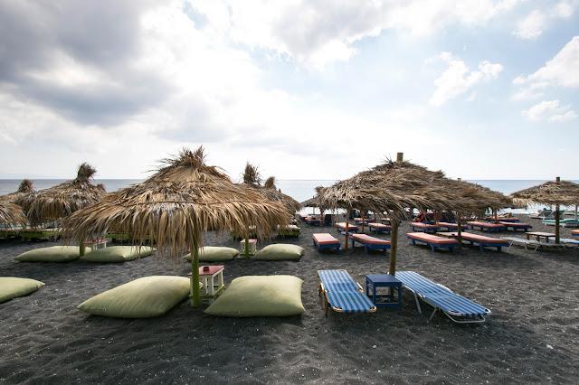 Spiaggia di Perissa-Santorini