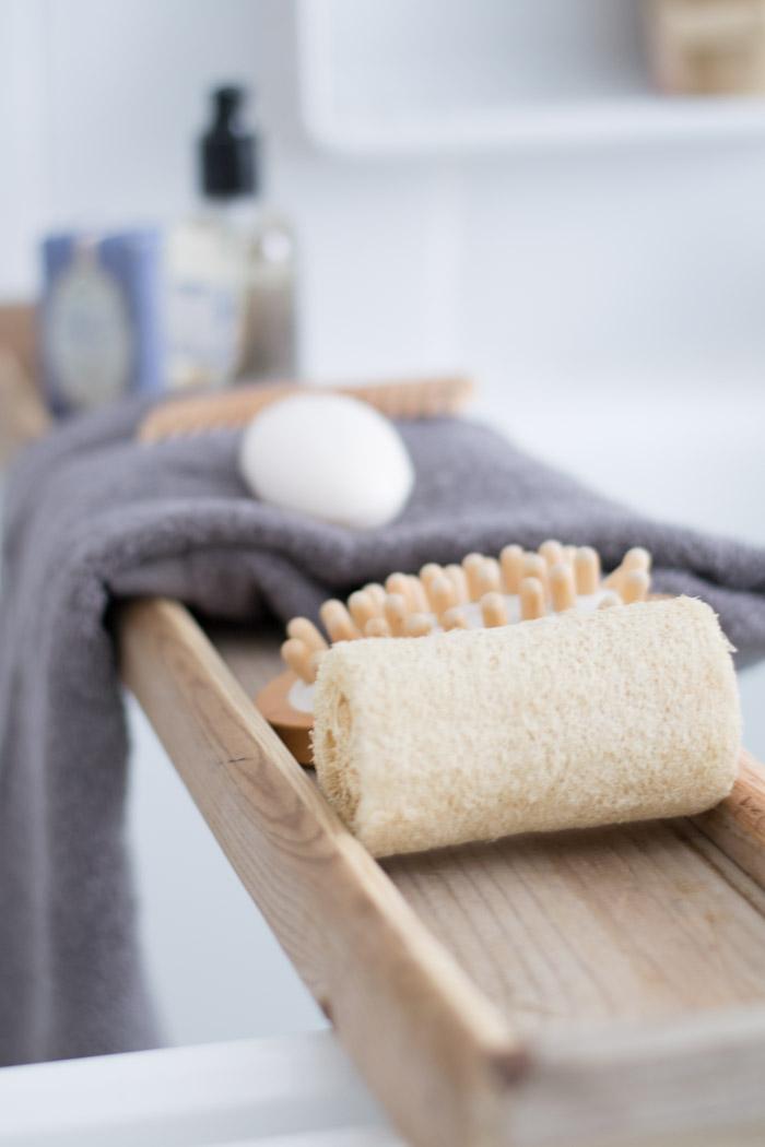 Soporte bañera madera diy