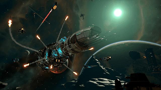 fractured space adalah game moba yang serlatar di luar angkasa