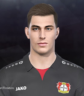PES 2018 Faces Kai Havertz by Tiitoo