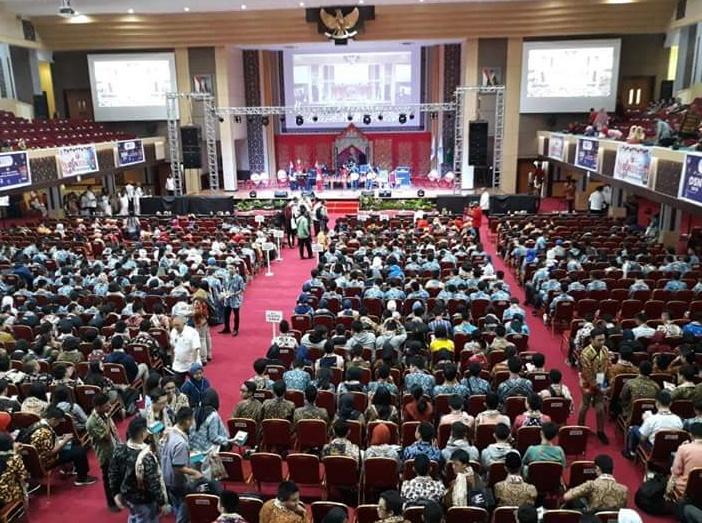 Pembukaan OSN 2018 di Padang Sumatera Barat
