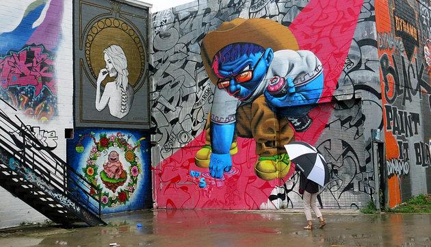 nghệ thuật đường phố houston