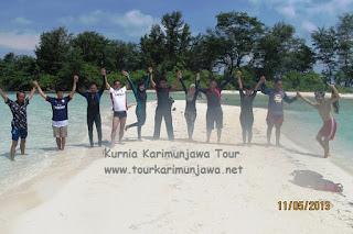 foto pulau cemara besar karimunjawa