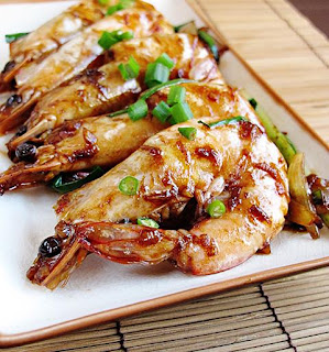Oriental Minced Prawns Recipe