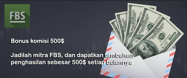 Bonus Komisi dari FBS