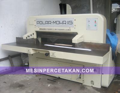 Mesin Potong Kertas Polar 150 EMC