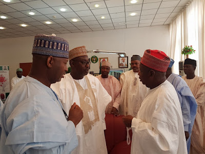 Buhari Commiserates With Kano People Over Death Of Former Deputy Governor. Photos