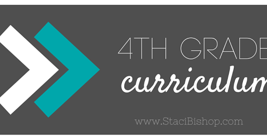 If You Really Wanna Know: 4th Grade Curriculum Choices