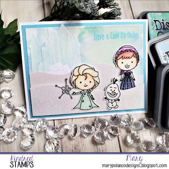 Easy Scene-Building with Kindred Stamps' Winter Friends