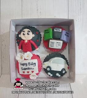 Cupcake Ulang Tahun Suami