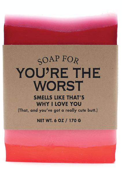 20 Hilarious Soap Names.