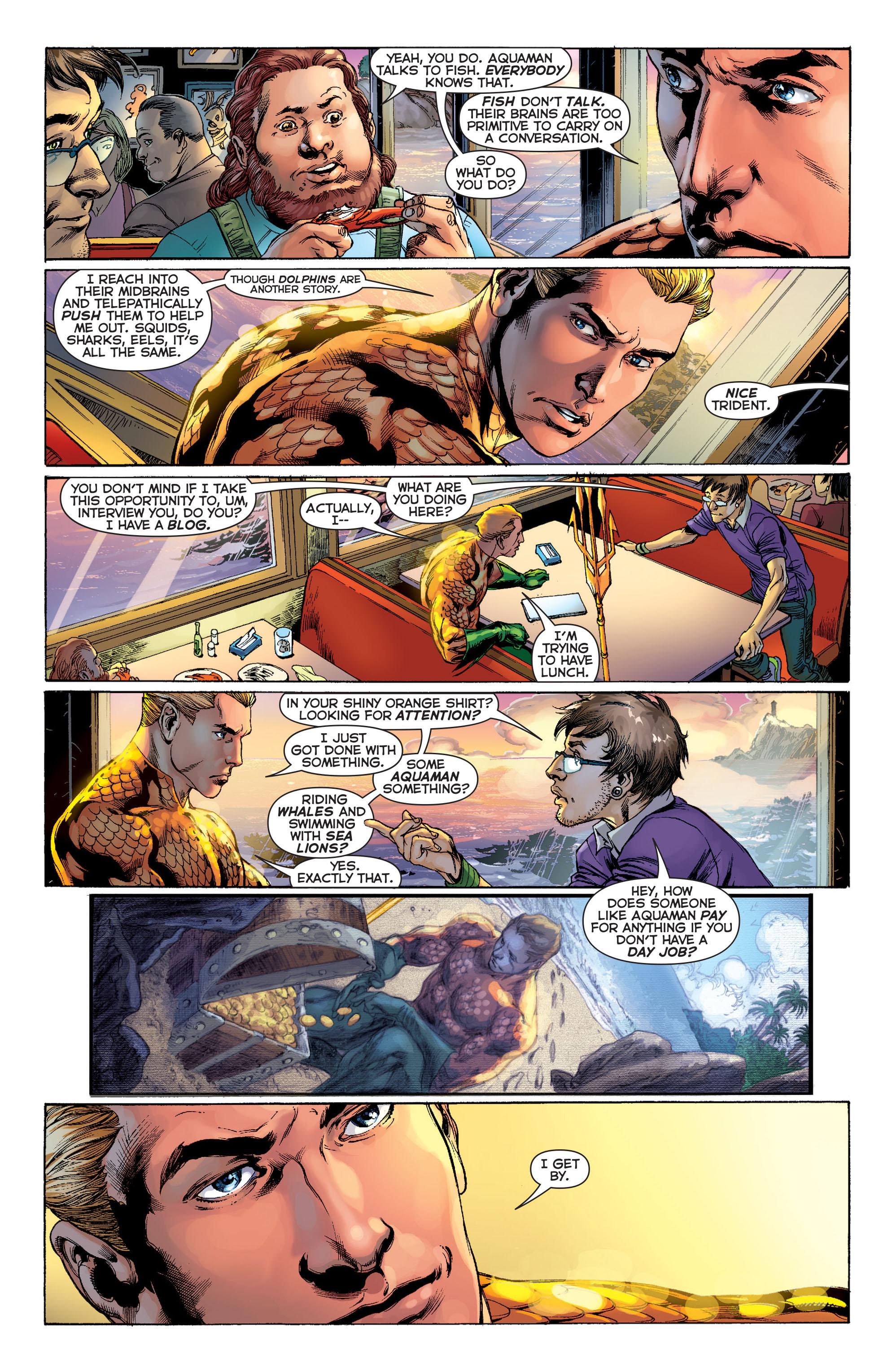 Read online Aquaman (2011) comic -  Issue #1 - 15