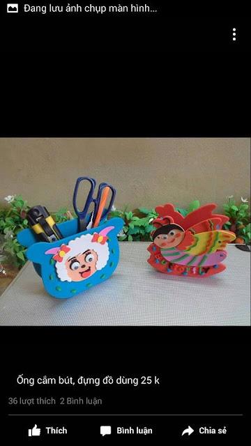 Ide membuat tas menggunakan bahan dasar foam  berbentuk kupu-kupu