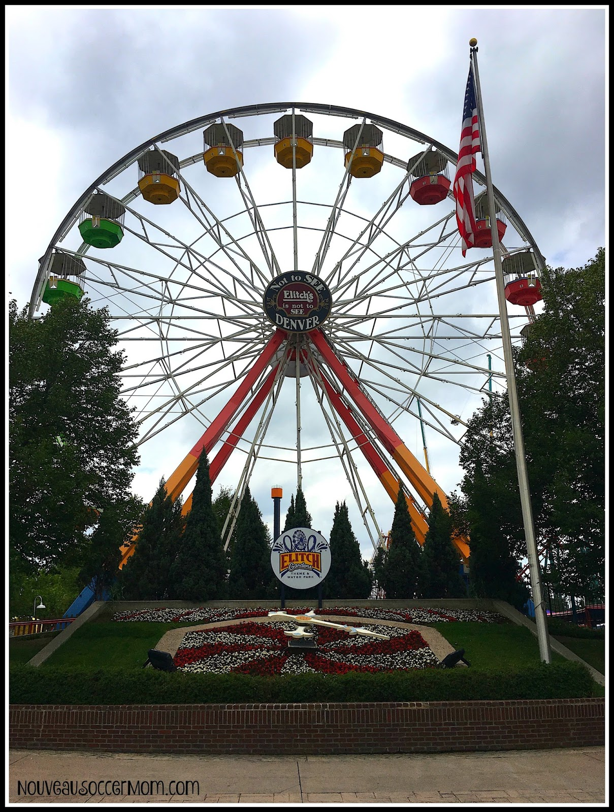 The Diary Of A Nouveau Soccer Mom Elitch Gardens Summer Fun Review