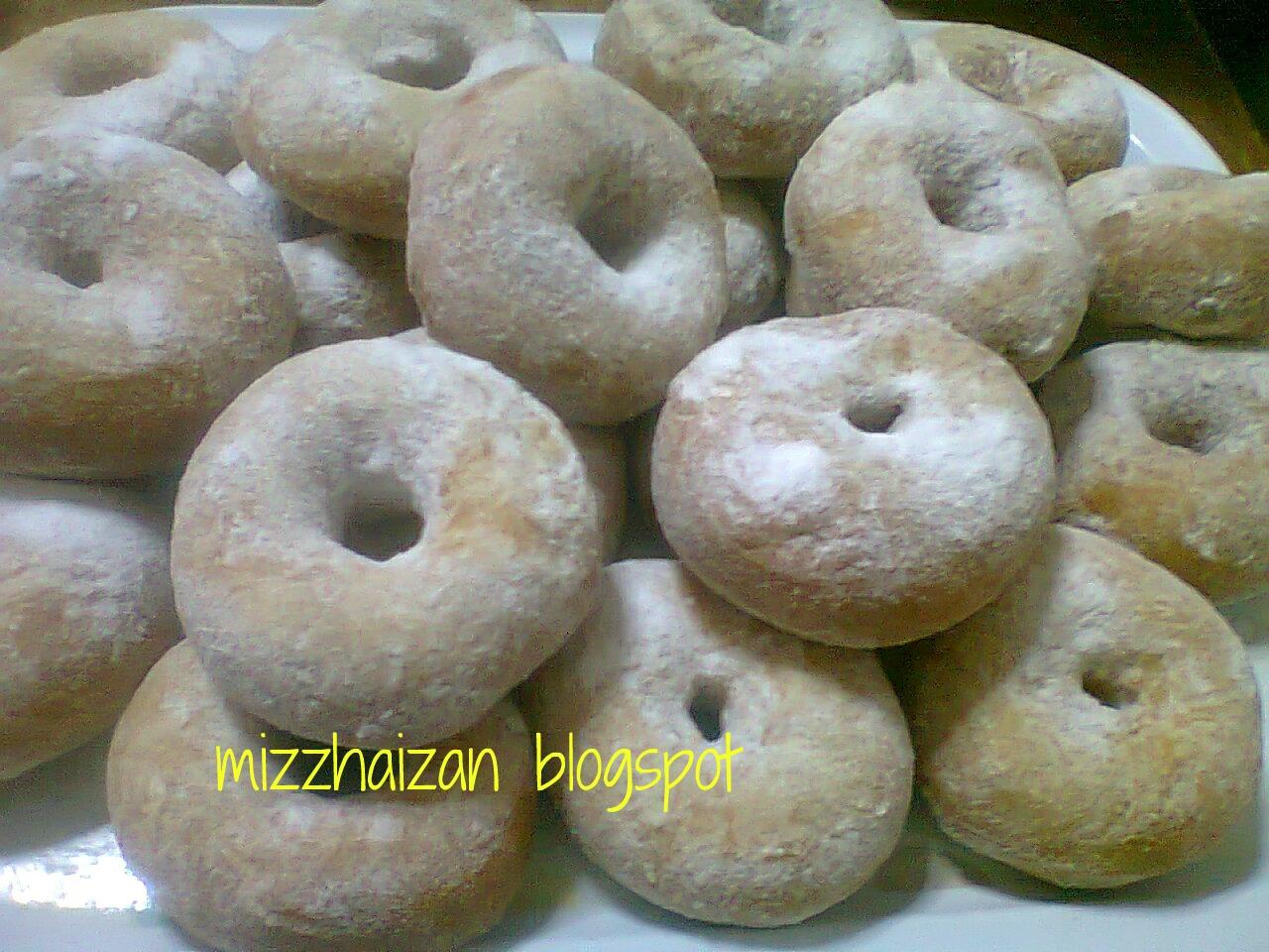 nota  dapur donut Resepi Kek Span Setengah Kilo Enak dan Mudah