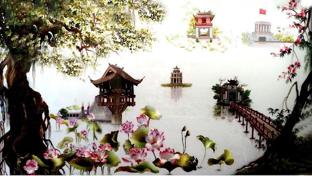 Vietnamese Embroidery Art