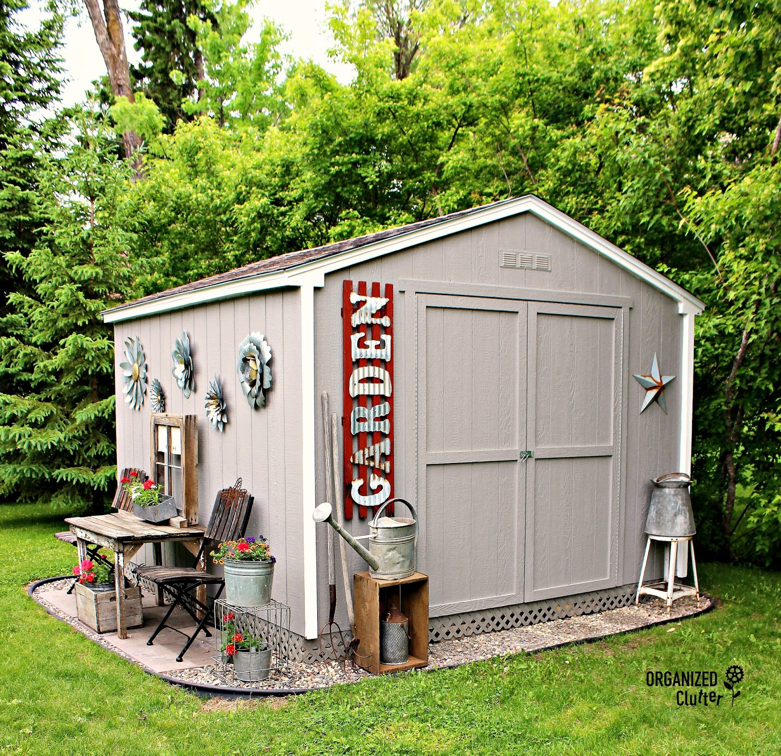 Junk Garden Ideas 2018 Edition: My New Junk Garden Shed