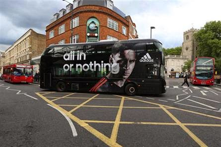 Adidas World Cup Bus Adverts