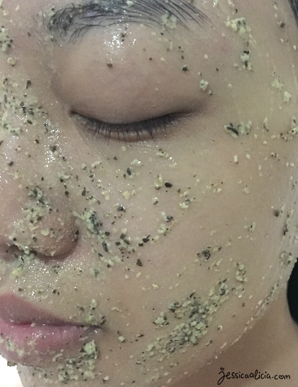 Review : Oatism Natural Mask - Green Tea by Jessica Alicia