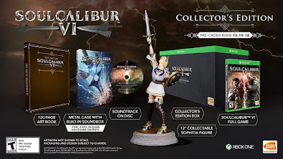 Soulcalibur 6 Game Cover Xbox One Deluxe Edition Features