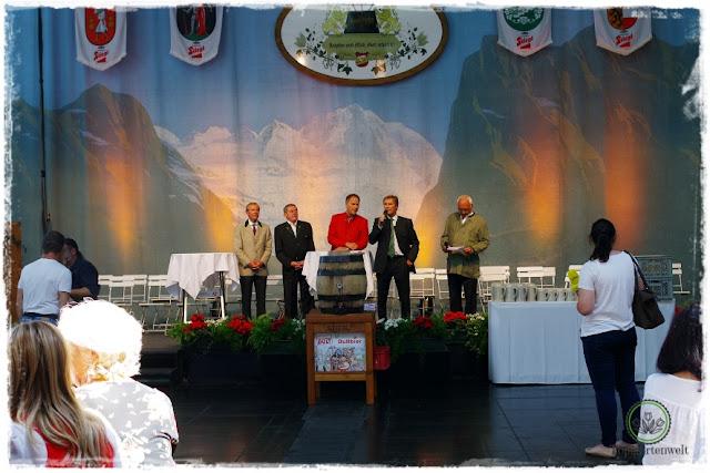 Gartenblog Topfgartenwelt Salzburger Dult 2017: Ansprache bei der offiziellen Eröffnung