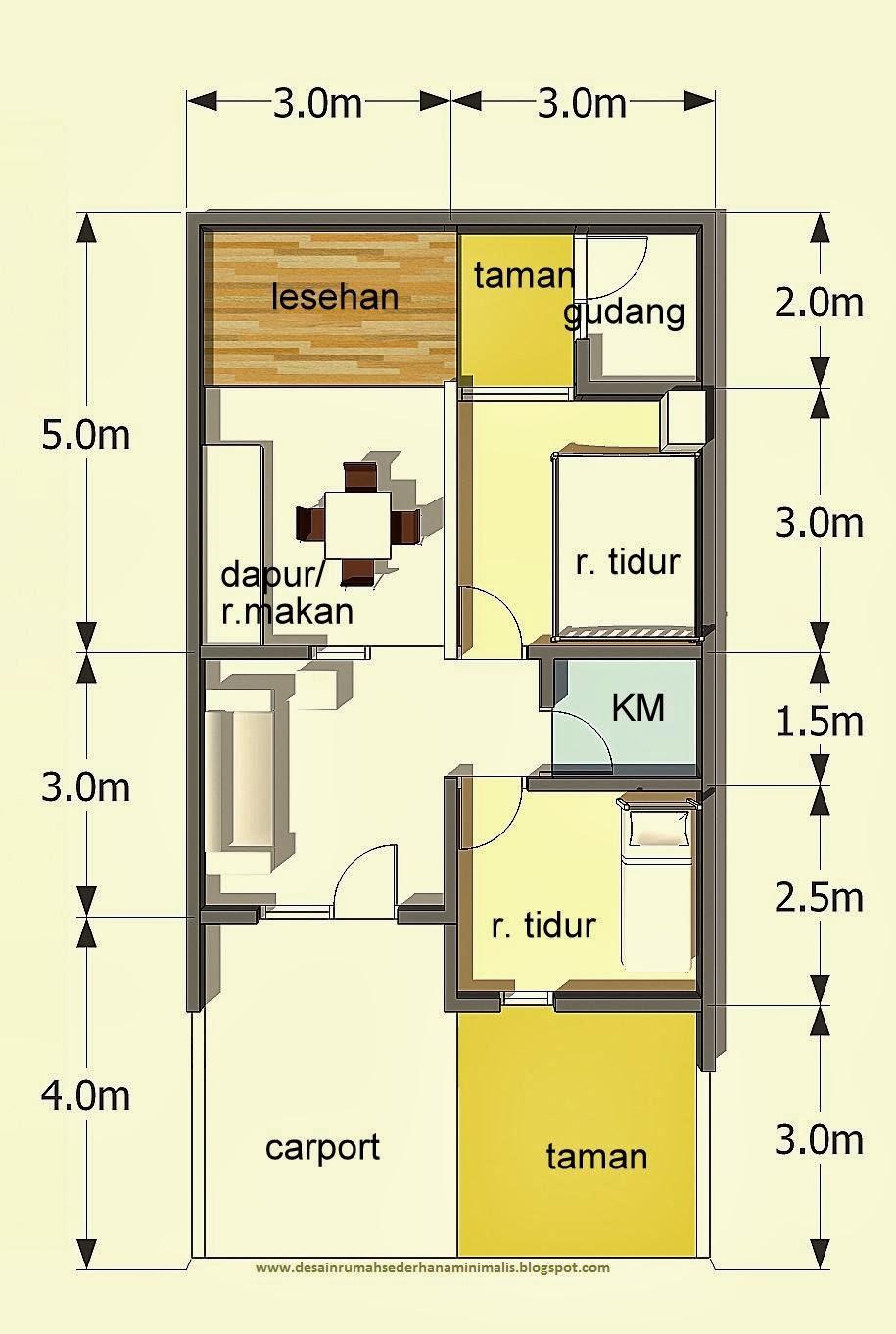 65 Desain Rumah Minimalis Persegi Panjang Desain Rumah Minimalis Terbaru