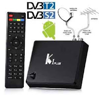 KI PLUS Android 5.1 TV Box 4K STB DVB-S2 DVB-T2