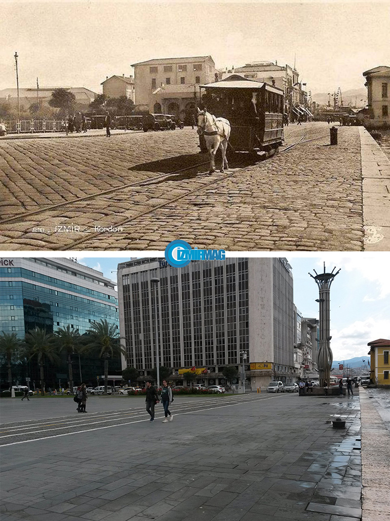 1930lar cumhuriyet meydanı izmir