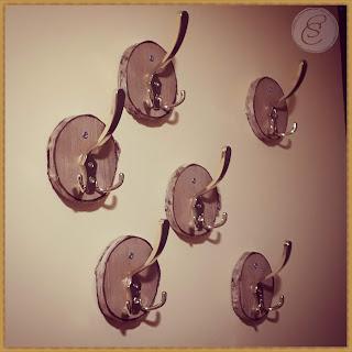 Rustic hangers