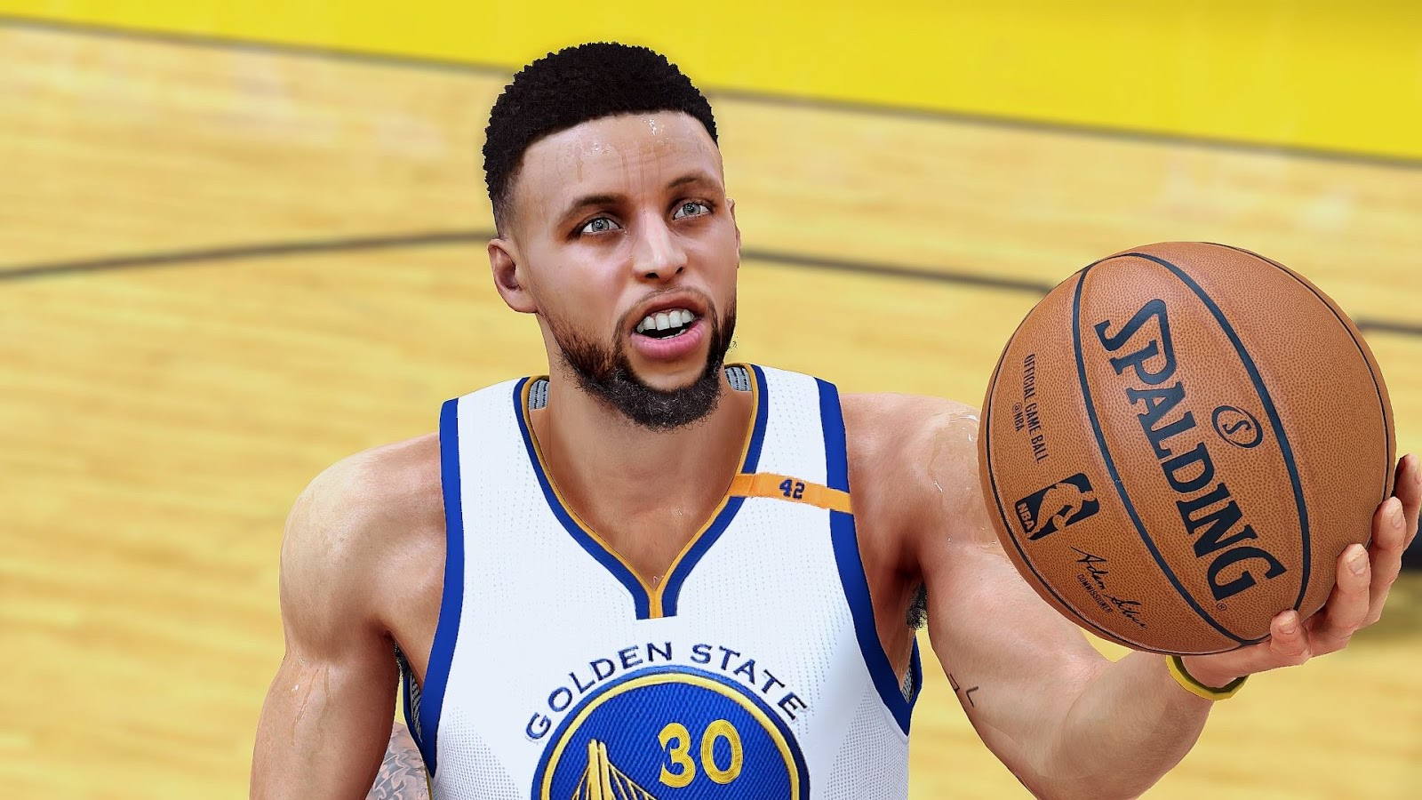 DNA Of Basketball | DNAOBB: NBA 2K17 Stephen Curry Cyberface by 2ktons