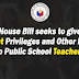 Discount Privileges for Public School Teachers
