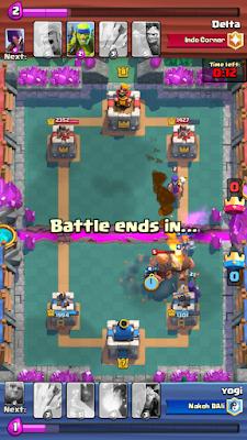 Cara menghadapi Giant, Hog dan Witch di Clash Royale