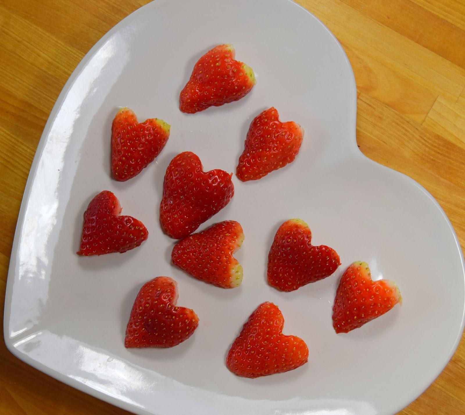 Love Heart Strawberries