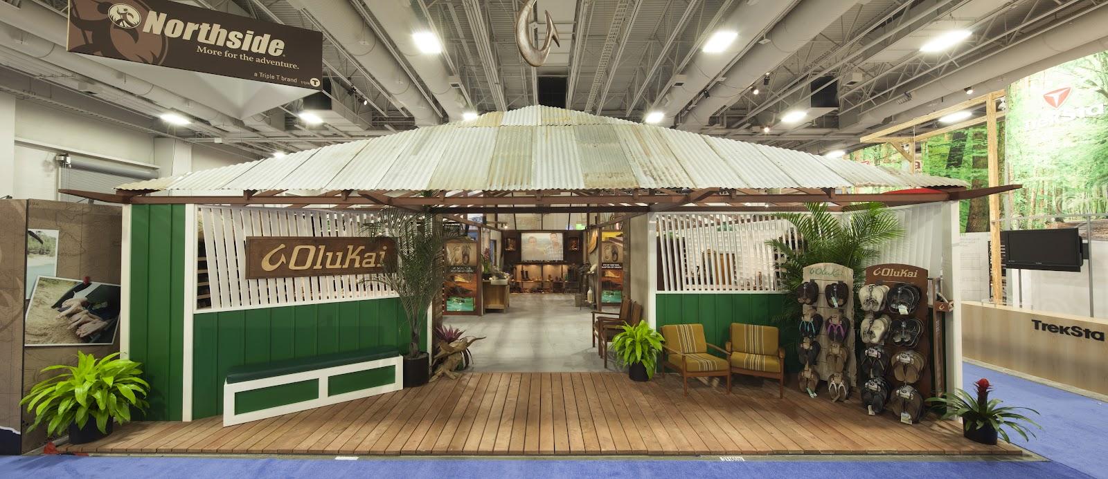 In Progress: SITEWORKS CREATES OLUKAI'S TRADE SHOW BOOTH