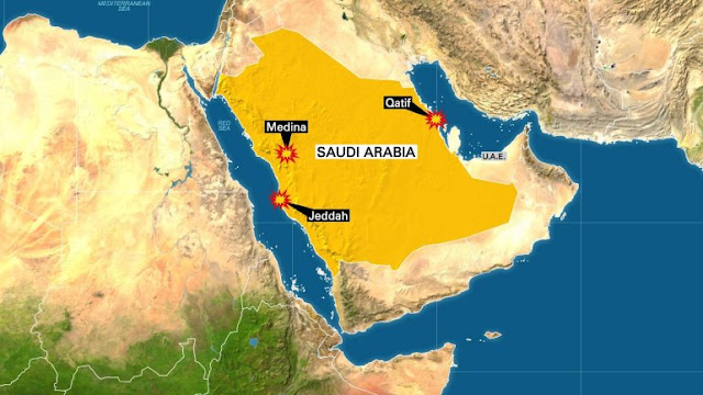 Suicide Attackers Launch 3 Strikes in Saudi Arabia