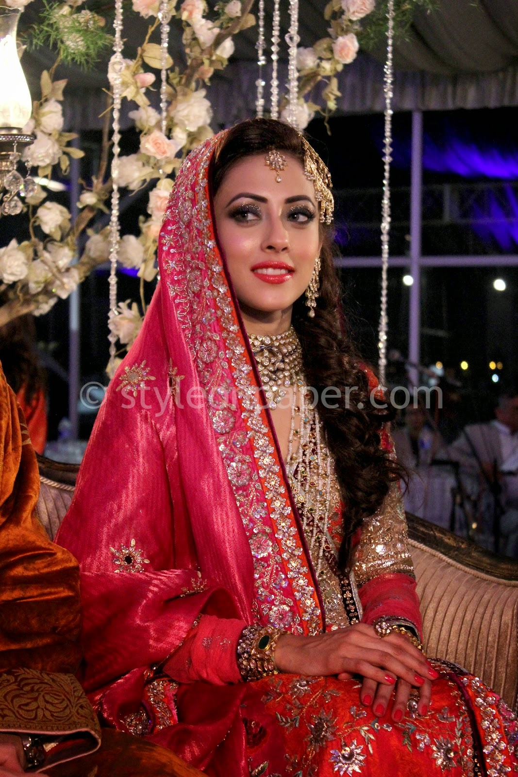 Pakistani Model Ainy Jaffri Complete Wedding Pictures