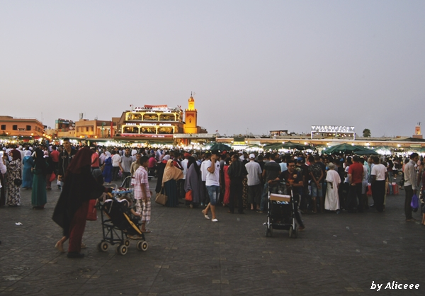 Marrakech-noaptea