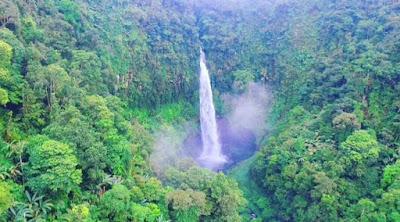 Pesona Curug Cipendok, Air Terjun Eksotis Kabupaten Banyumas