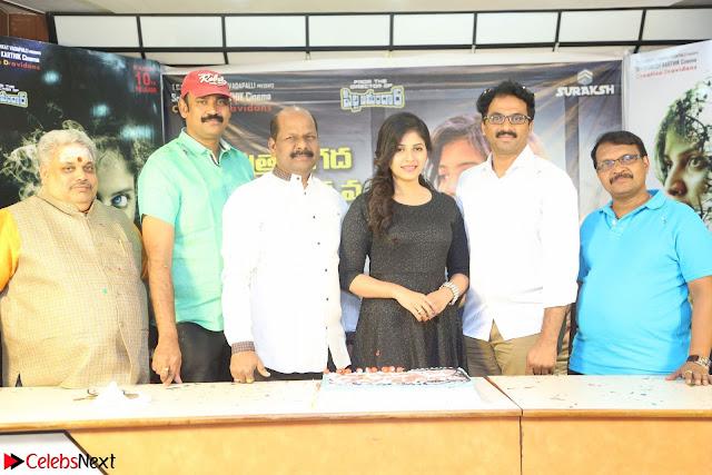 Anjali in Black Short Dress at Chitrangada Movie Success Meet ~  001.JPG