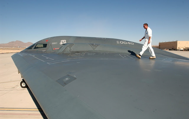 Northrop B-2 Spirit Wing Section