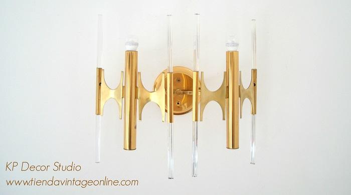 Comprar aplique de pared exclusivo. lámparas de autor. apliques italianos de diseño conocido