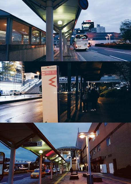 nagano station bus stop