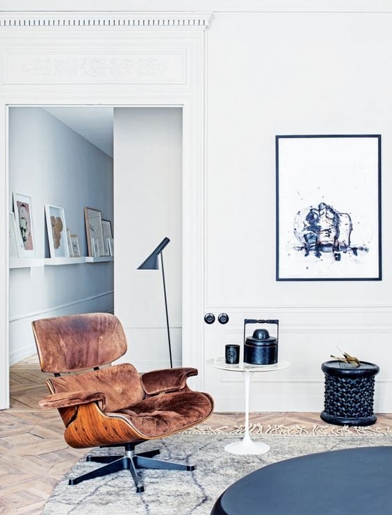 House tour a modern French apartment {Cool Chic Style Fashion}