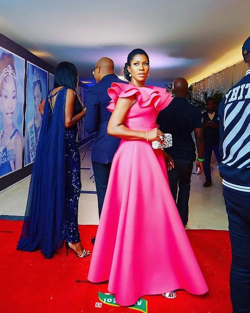 Stephaine Okereke at the MBGN 2017 pageant