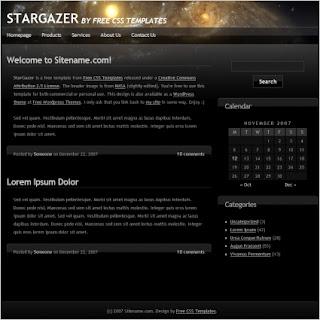 Stargazer HTML (CSS)