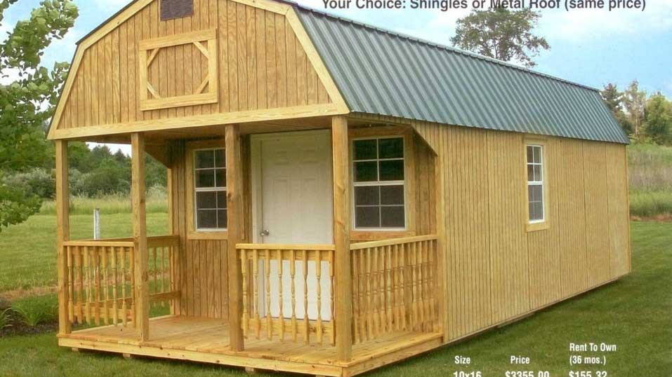 Self Storage - Rent To Own Portable Buildings Storage ...