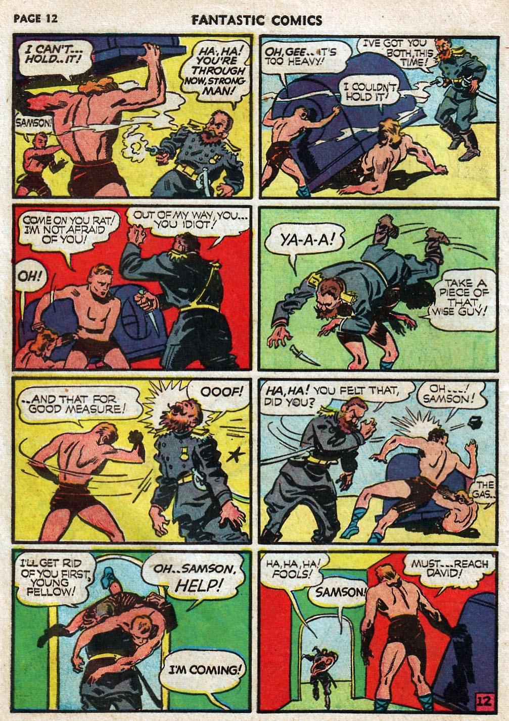 Read online Fantastic Comics comic -  Issue #17 - 14