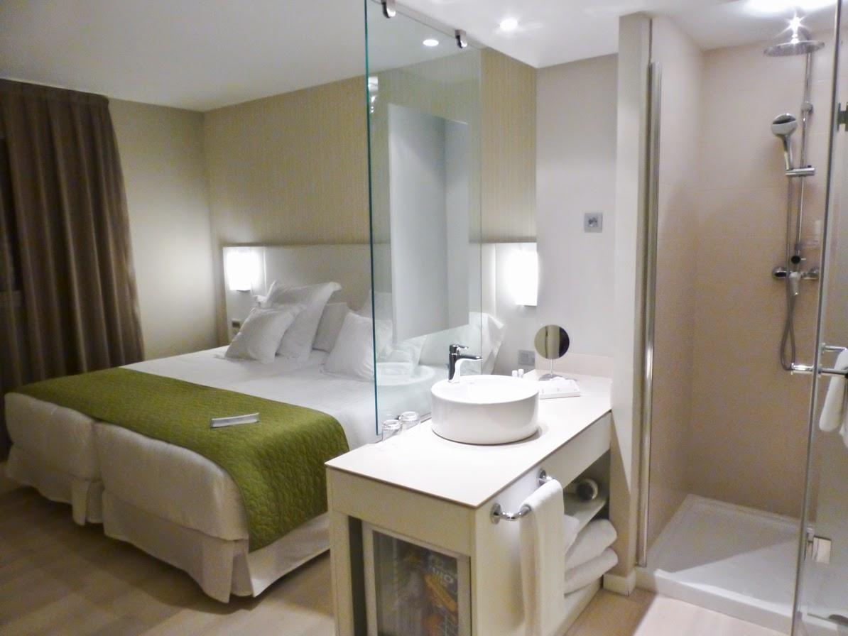 Habitación doble del Barcelo Bilbao Nervion