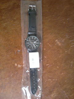 Men quartz wristwatch
