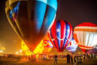 Laredo Texas BalloonaPalooza Tour Winter Spectacular